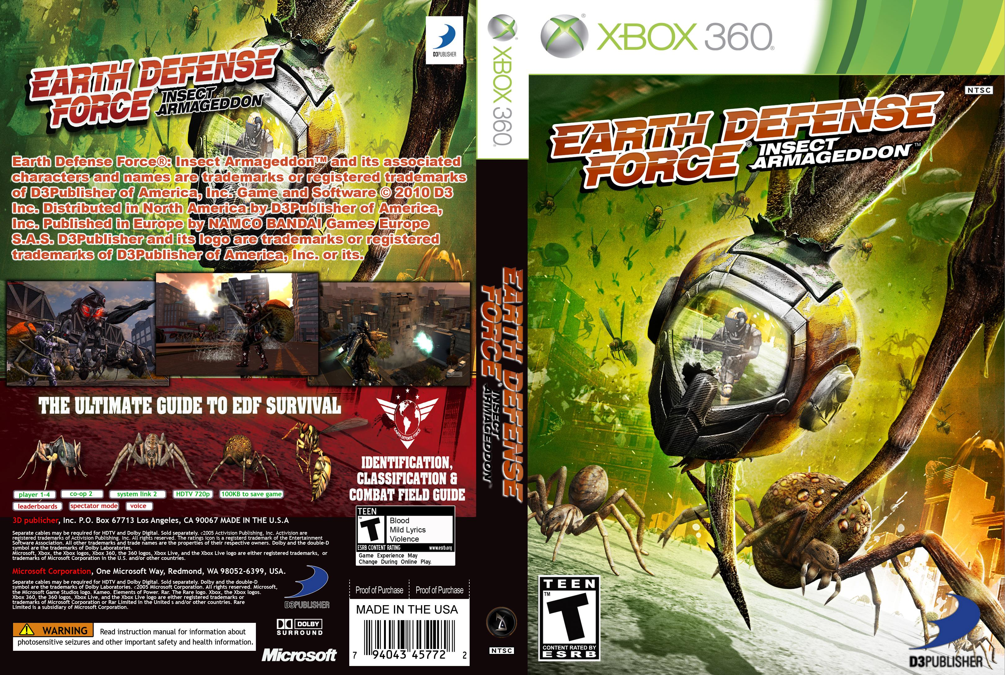 EarthDefenseForceInsectArmageddon