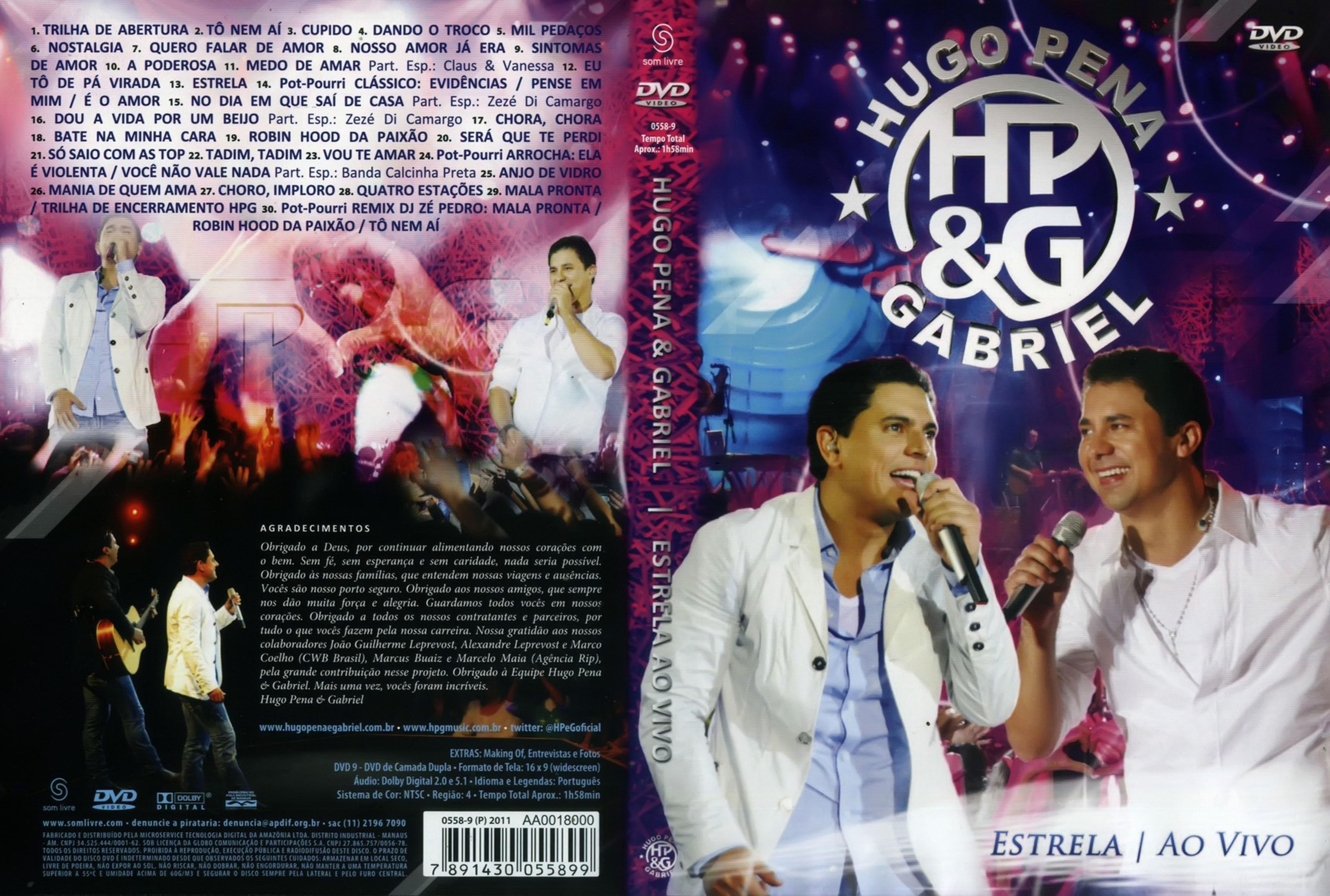 HugoPenaeGabrielEstrelaAoVivo