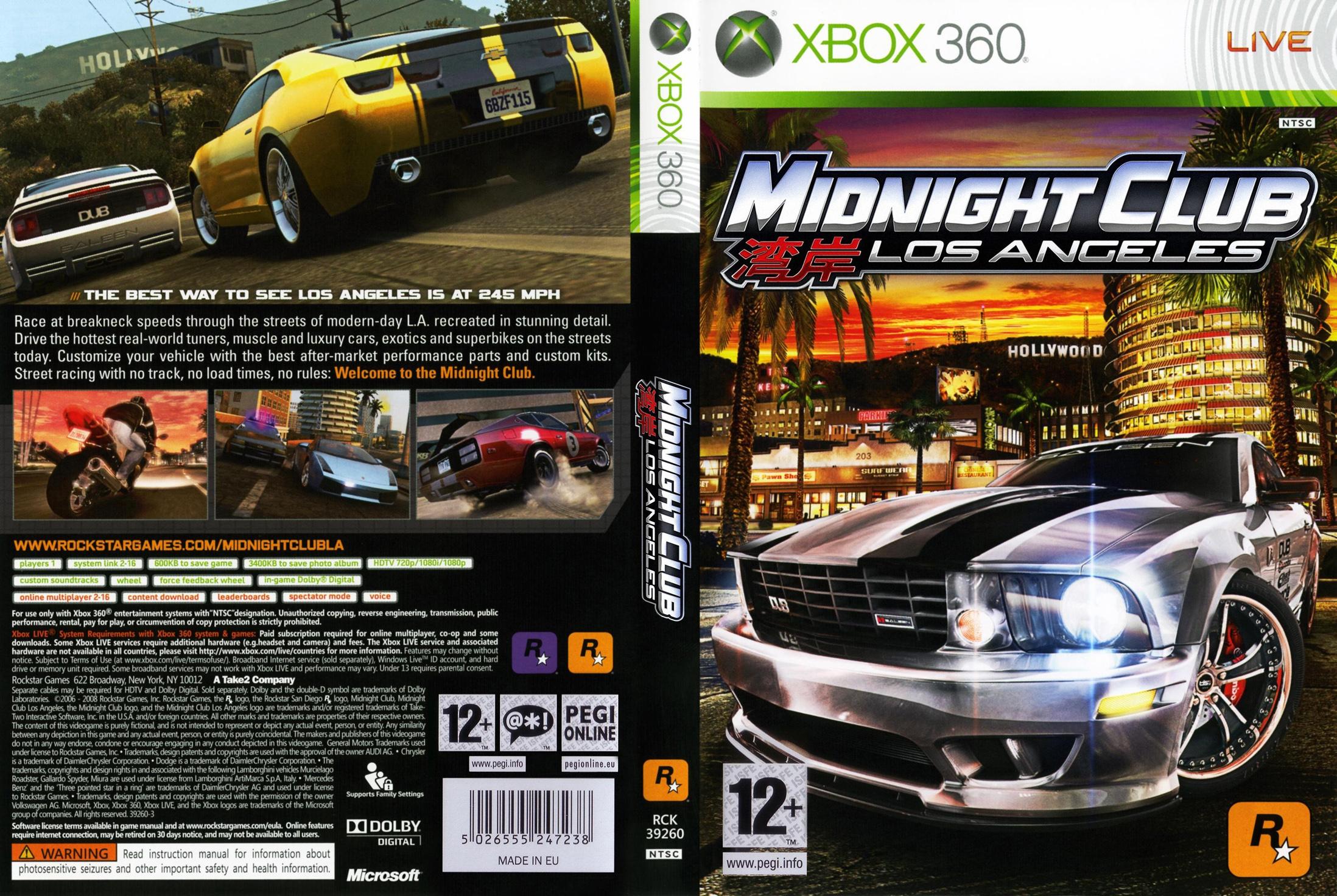 MidnightClubLosAngeles