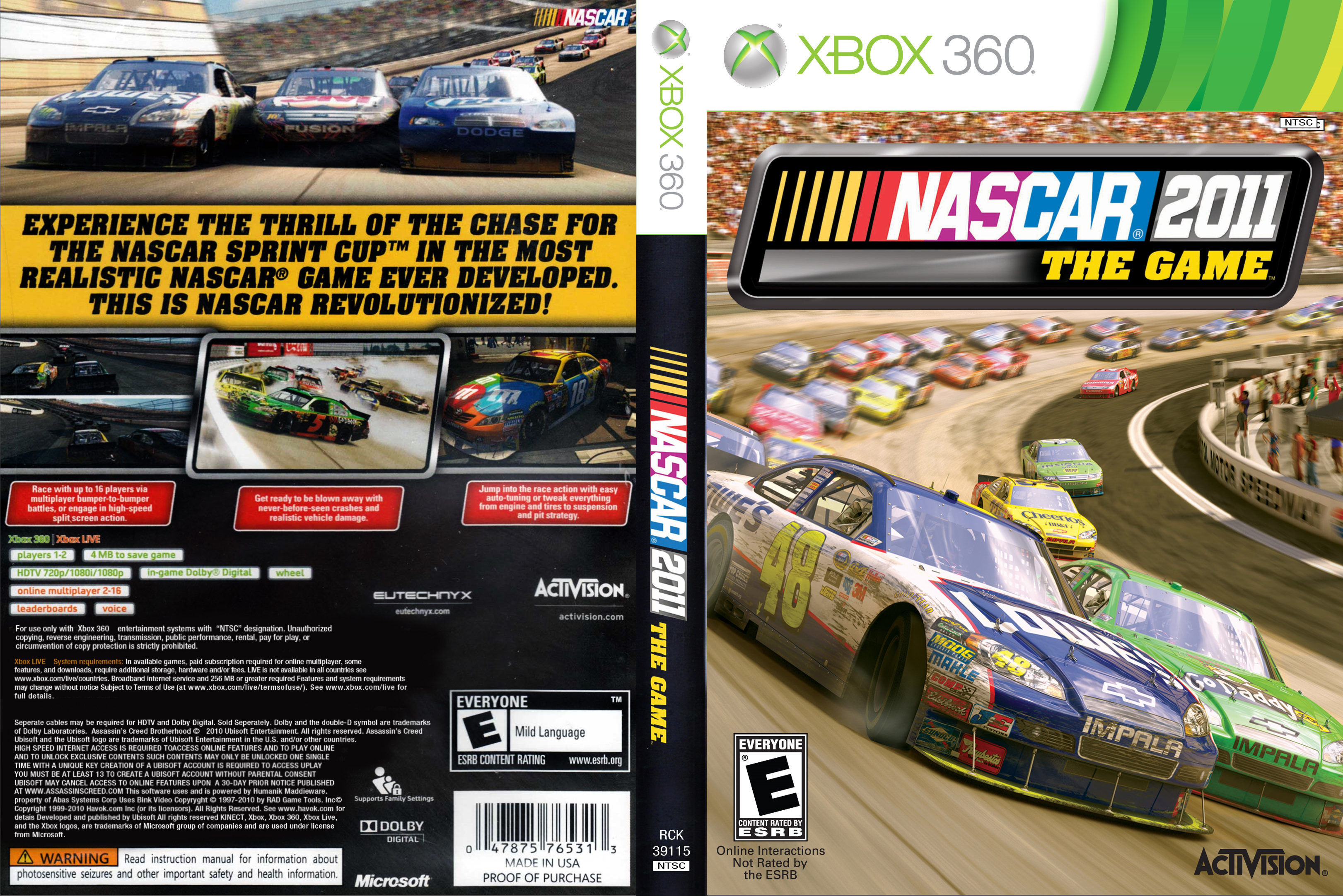 NASCAR2011TheGame