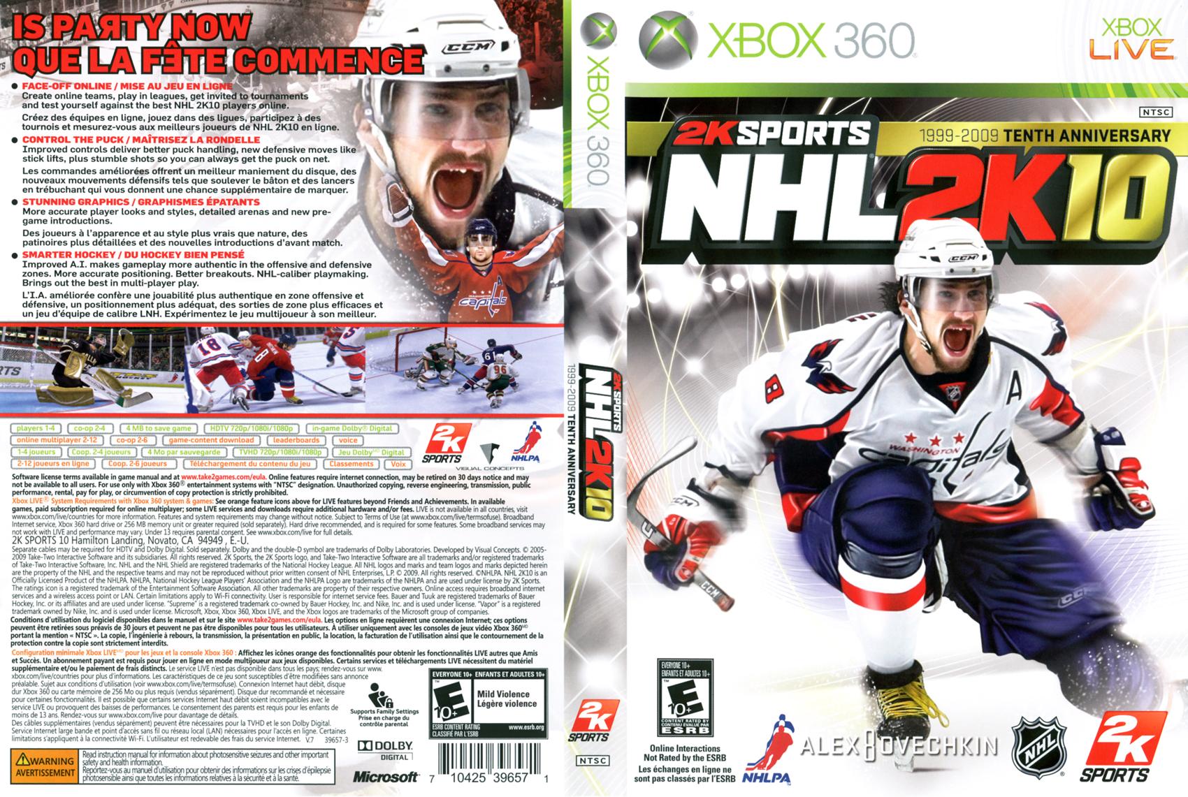 NHL2K10