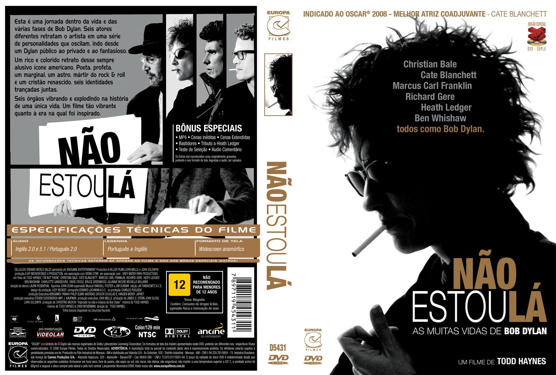 DVD Nao Estou La