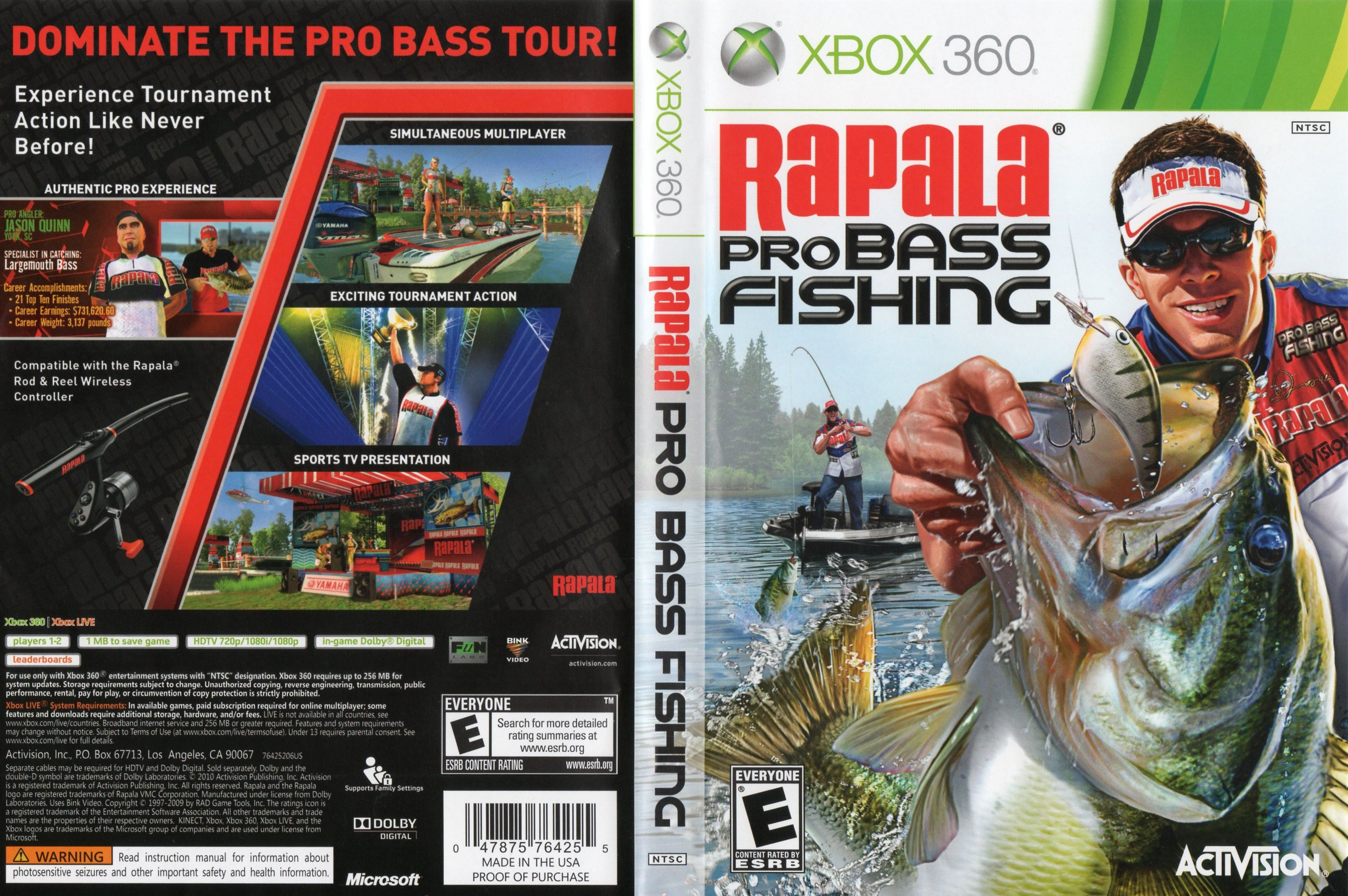 RapalaProBassFishing2010
