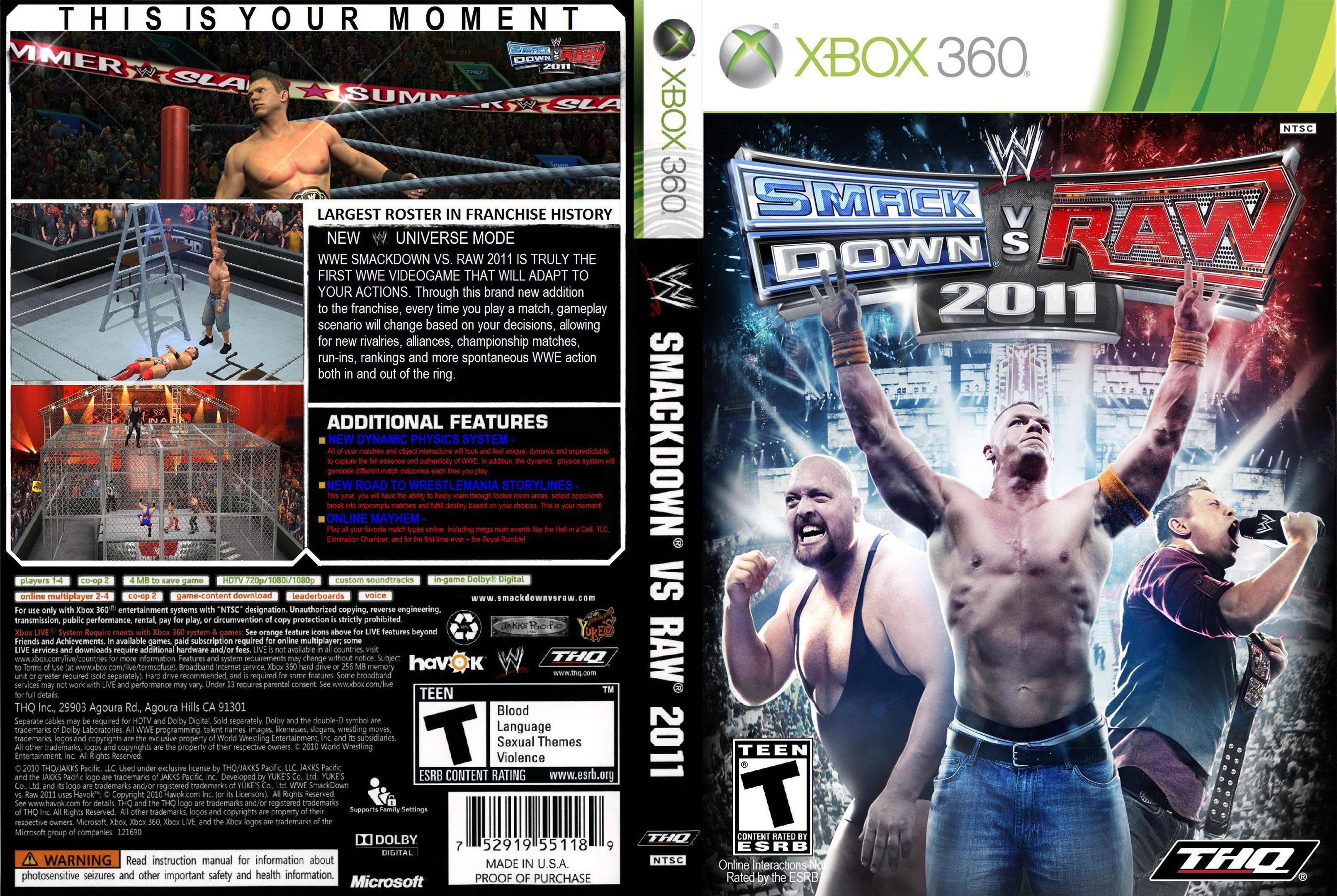 WWESmackDownvsRaw2011
