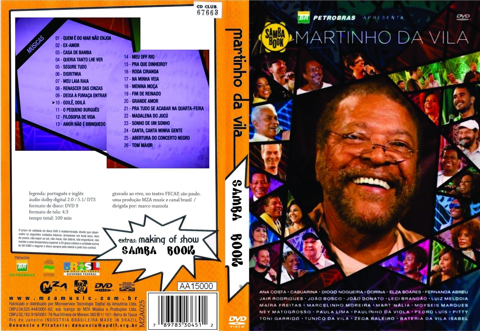 cd martinho da vila sambabook