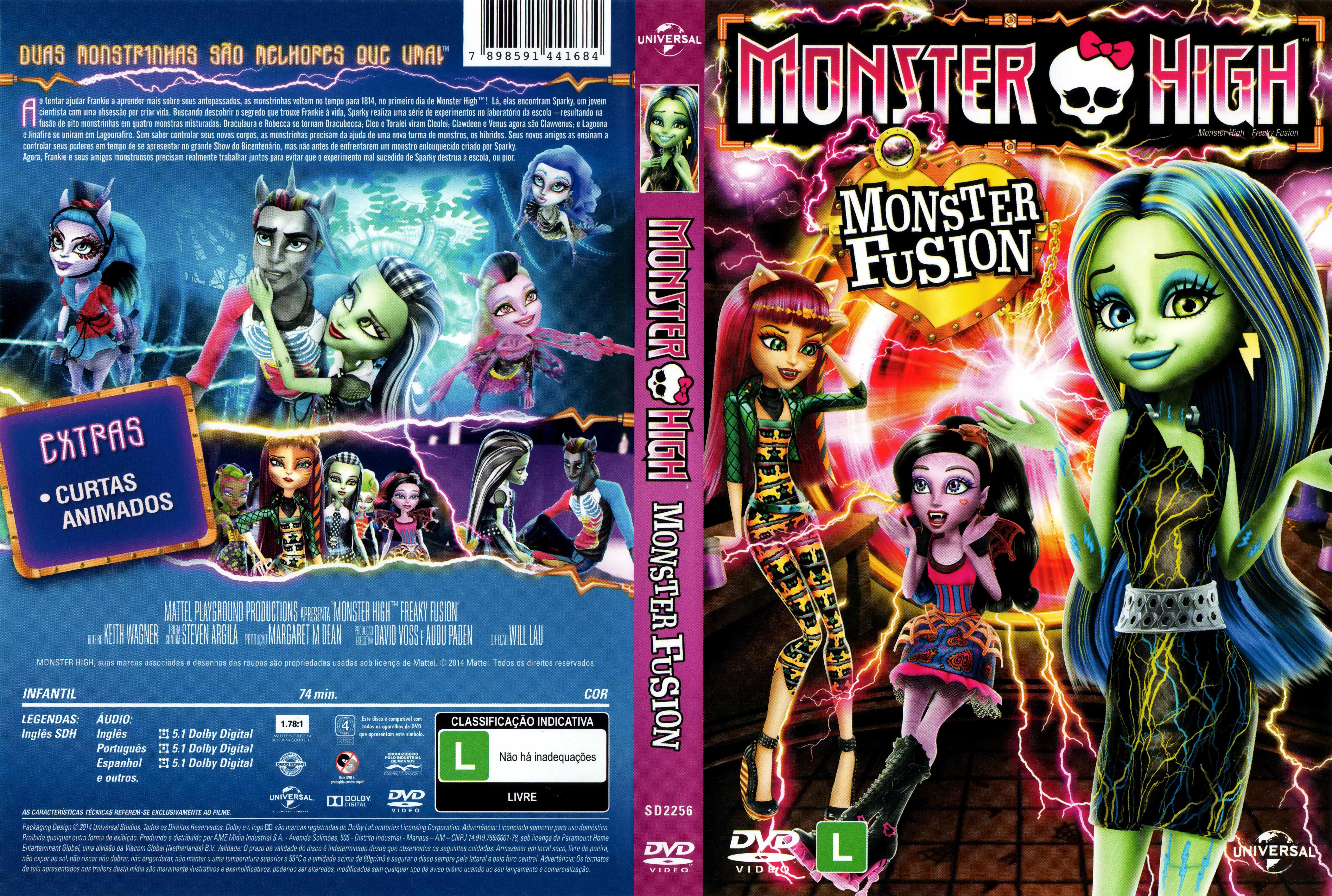 MonsterHighMonsterFusion