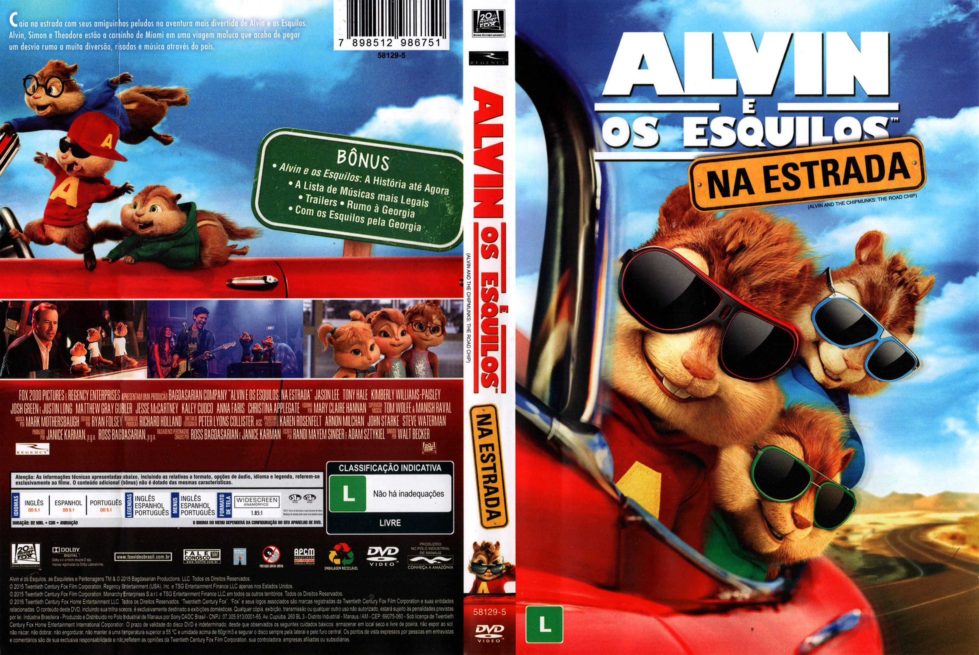 AlvineOsEsquilosNaEstrada