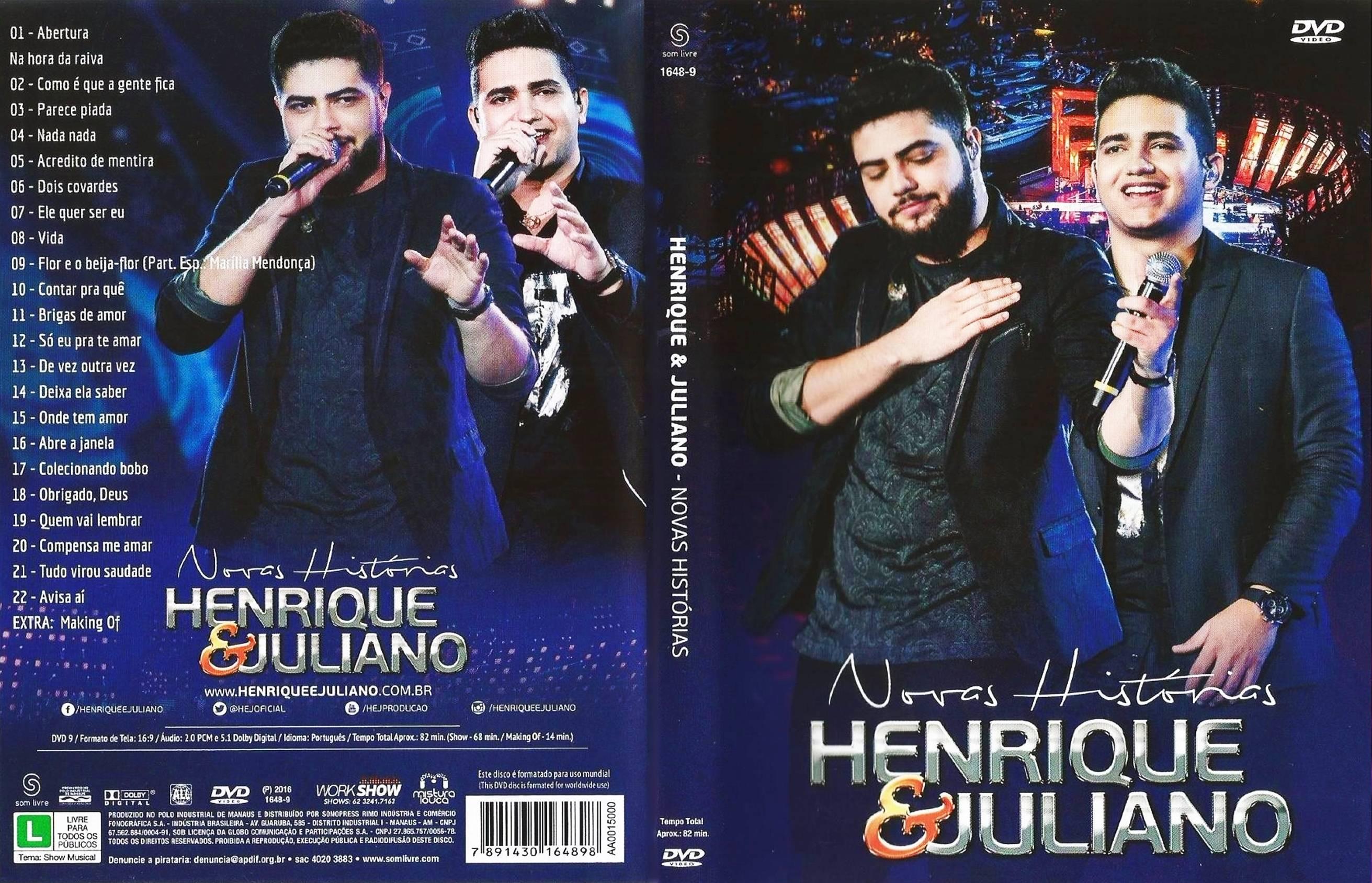 HenriqueJulianoNovasHistorias