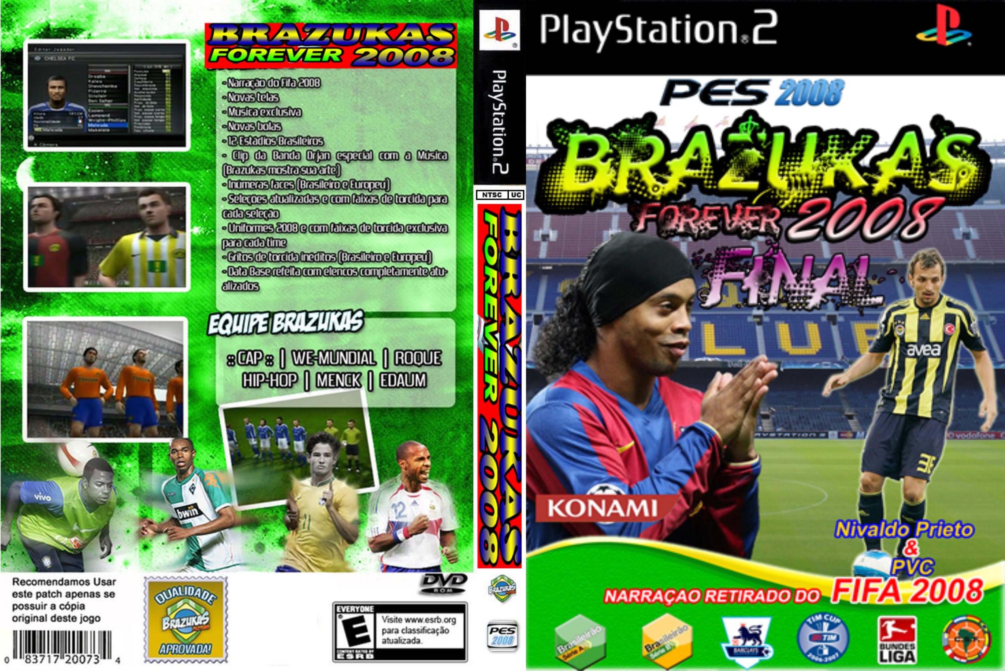 brazukas 2008 para ps2