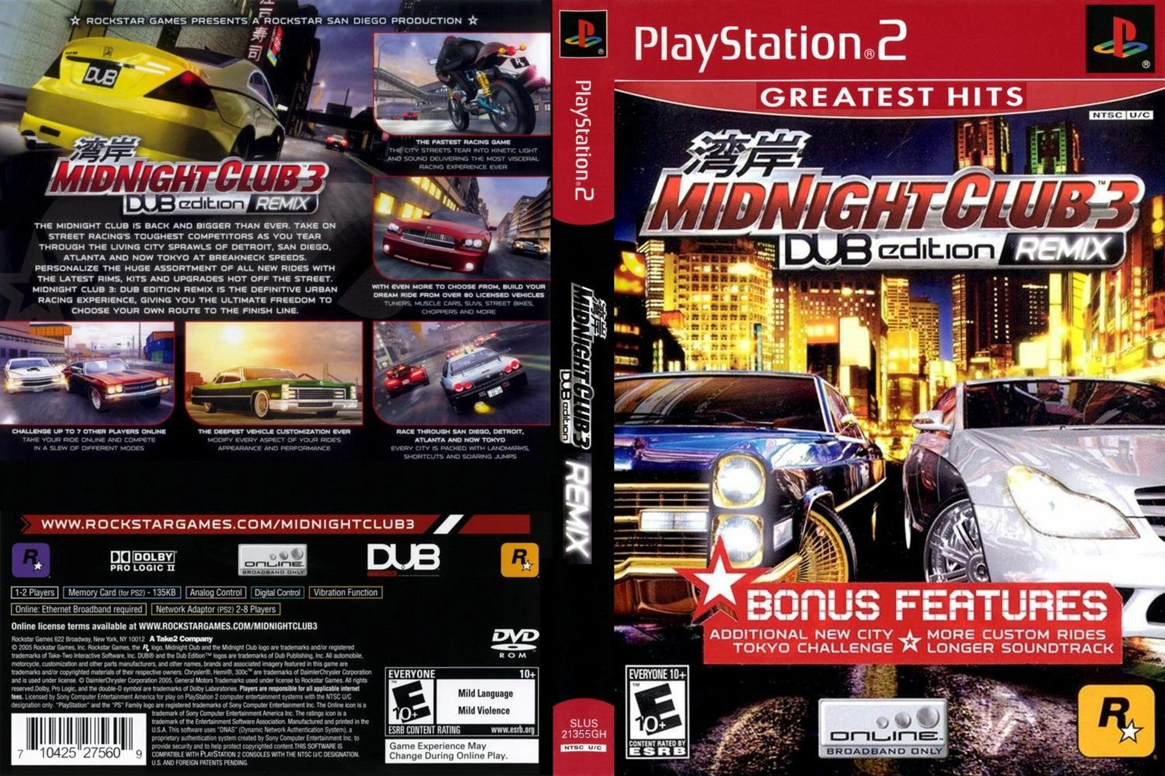 MidnightClub3DUBEdition
