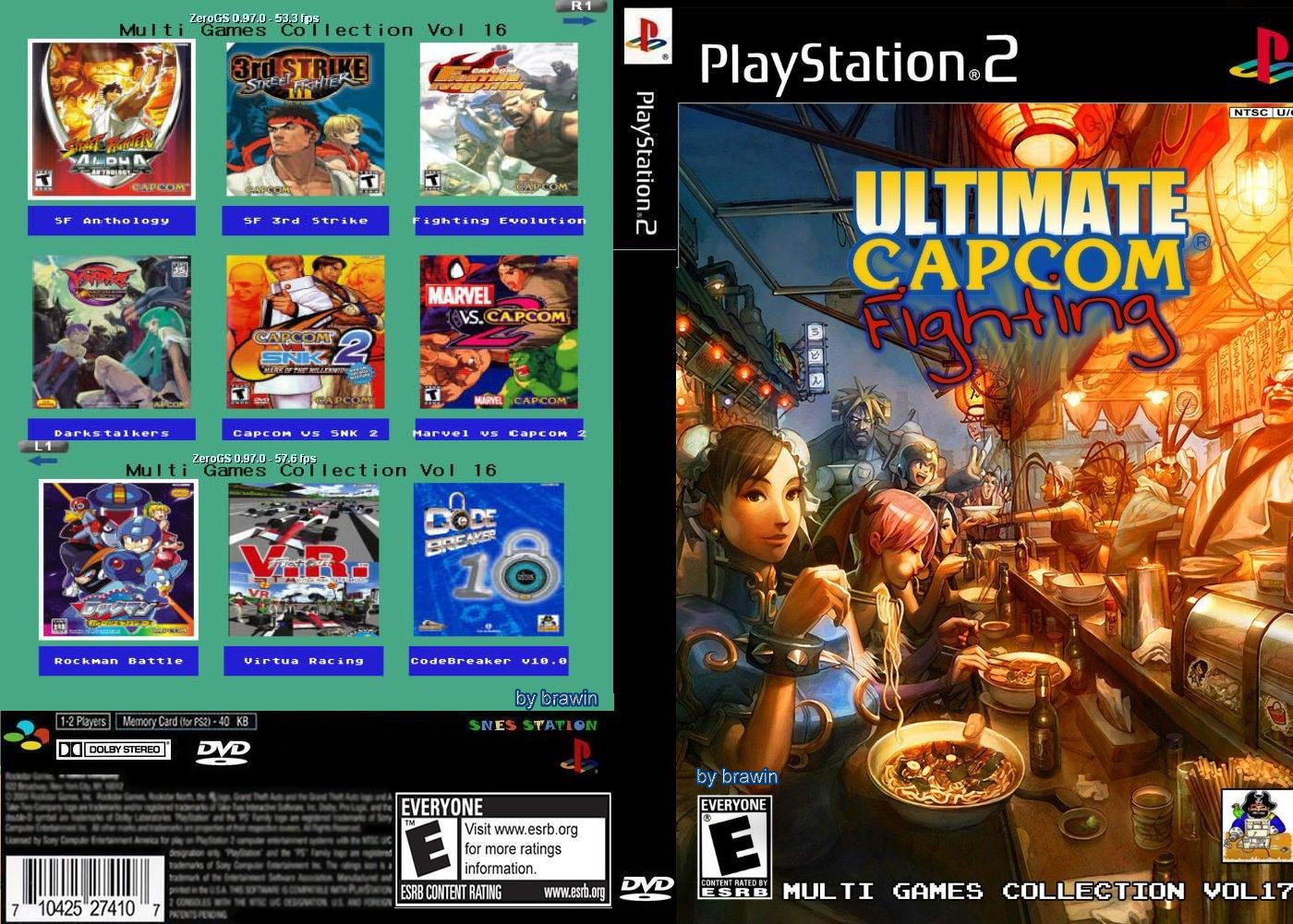 MultiGamesCollectionVolume17UltimateCapcomFighting