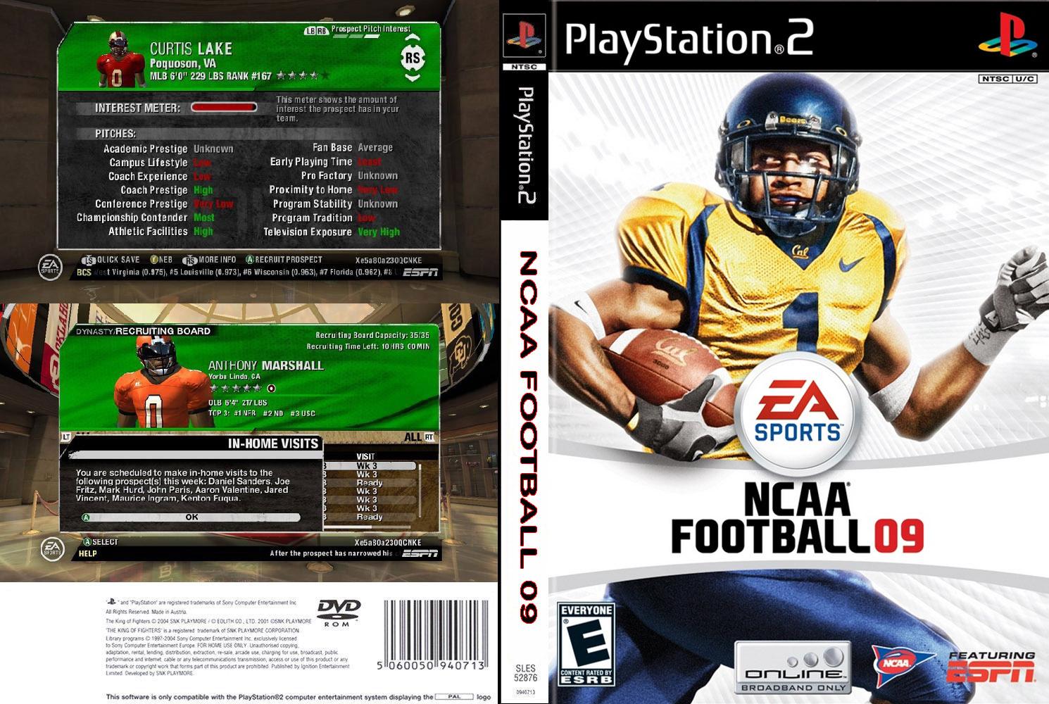 NCAAFootball09