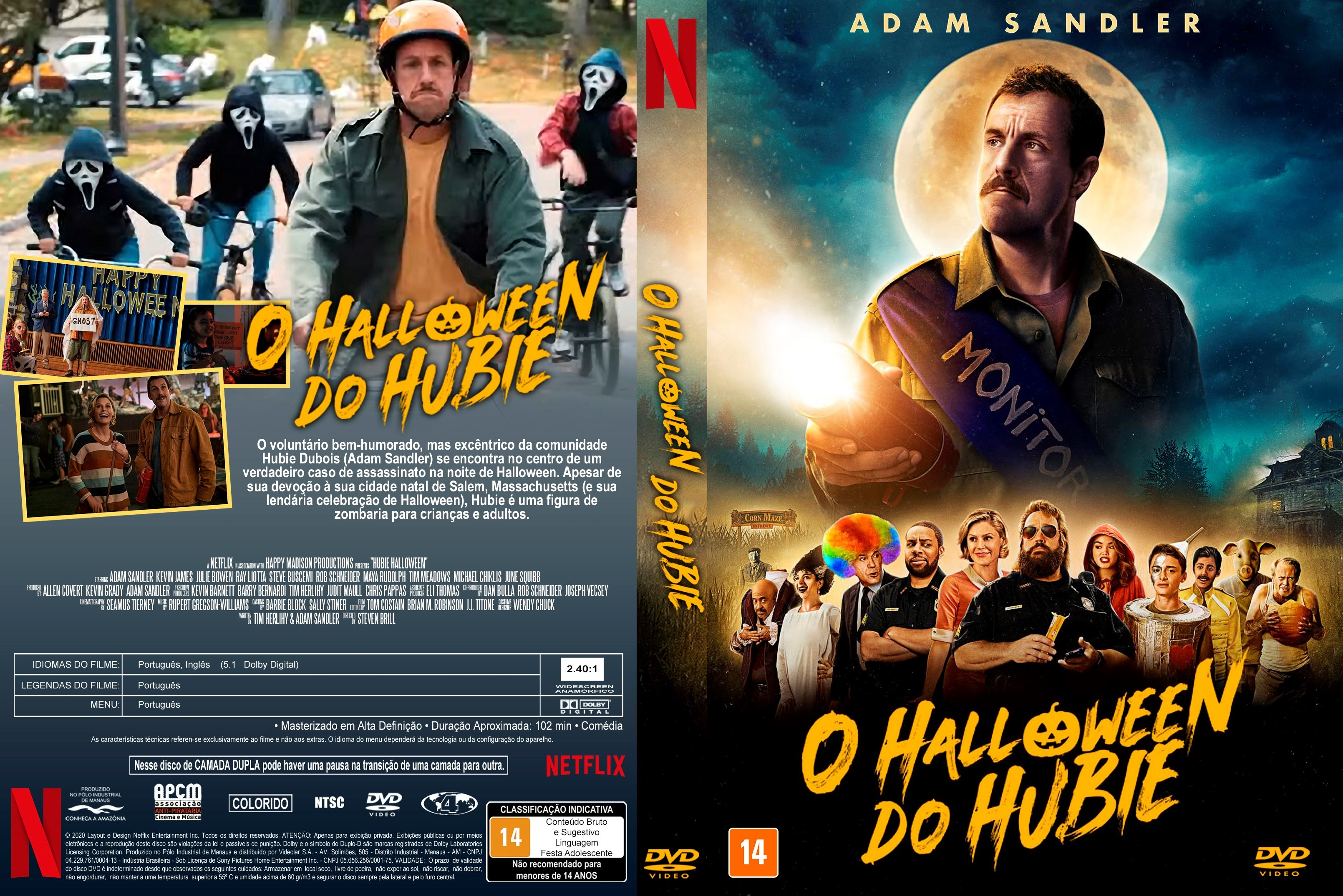 O Halloween do Hubie Gênero: […]