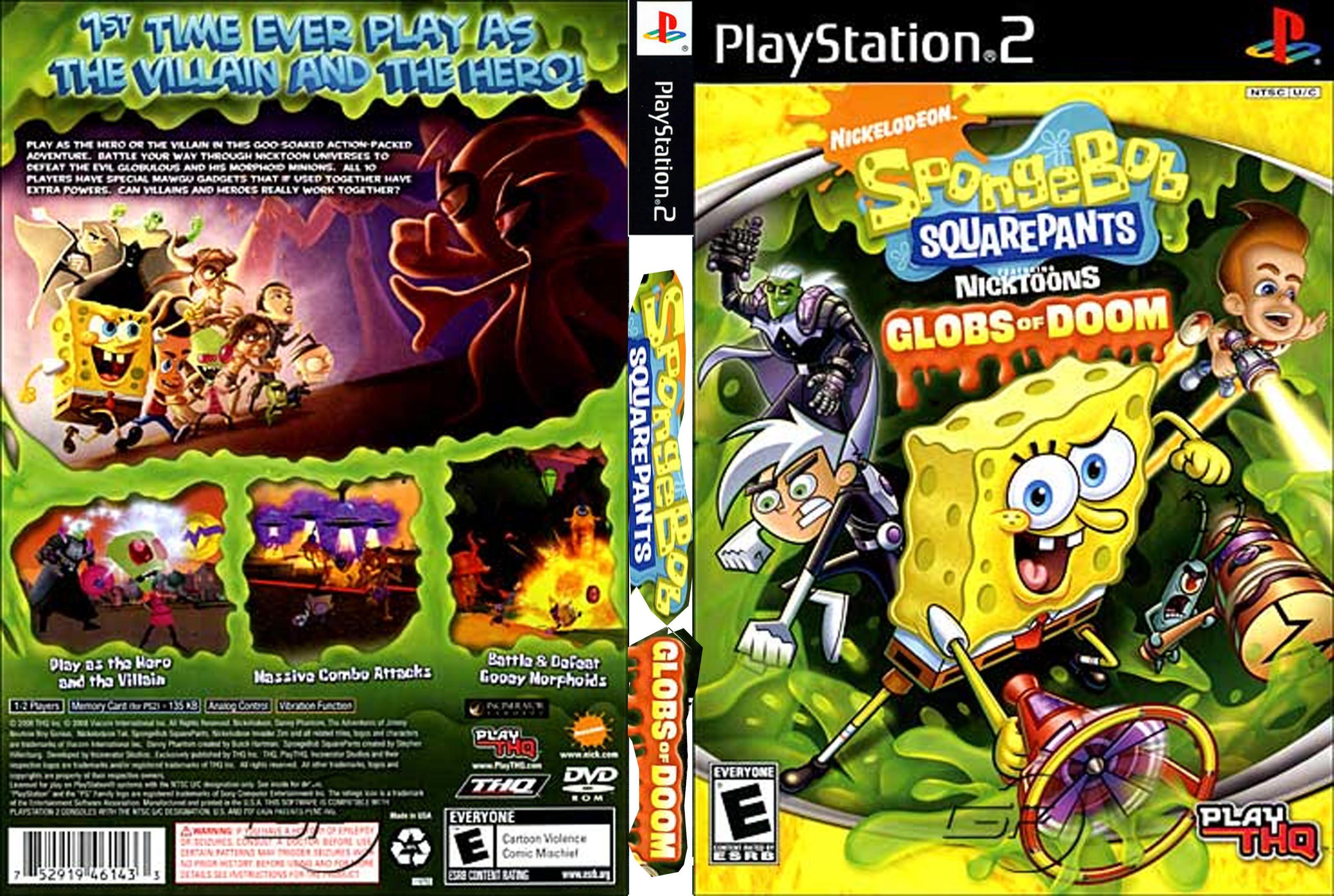 SpongeBobSquarePantsfeaturingNicktoonsGlobsofDoom