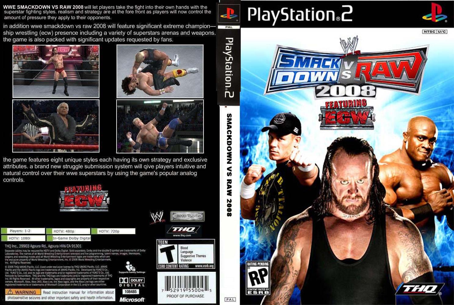 WWESmackDownvsRAW2008